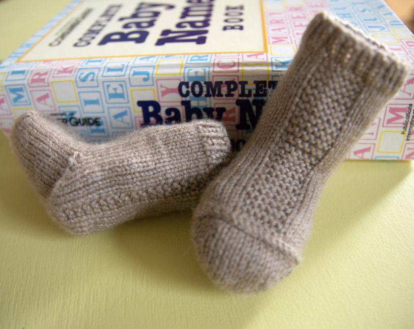 Garter Strip Socks