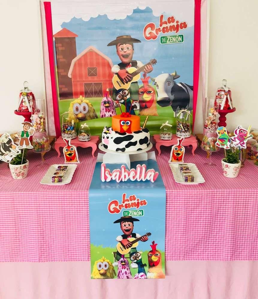 Farm Birthday Party Ideas Cumpleanos Isi Pinterest Farm