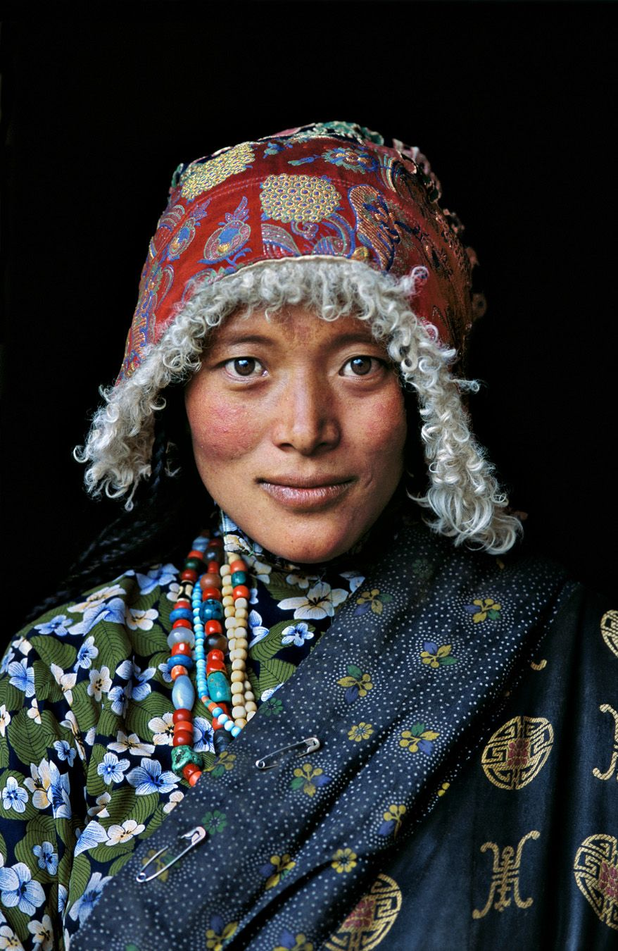 Tibetan Woman at Stupa | TIBET-10067NF/ Photography by ...