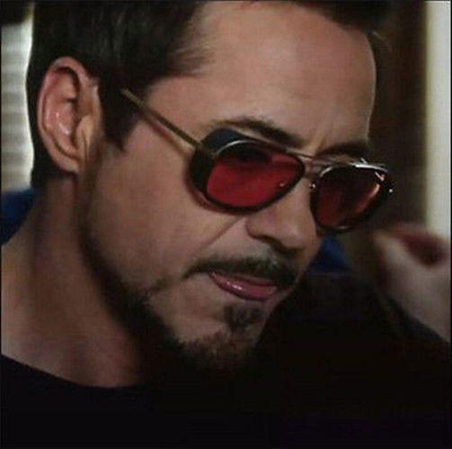 a02e253177 Iron Man 3 Sunglasses Red lens Robert Downey TONY STARK Driving Aviator  Goggles #New #Sport