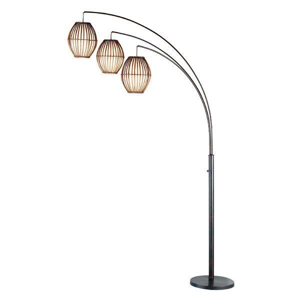 Aidan 61 5 Floor Lamp Floor Lamp Arc Floor Lamps Tree Floor Lamp