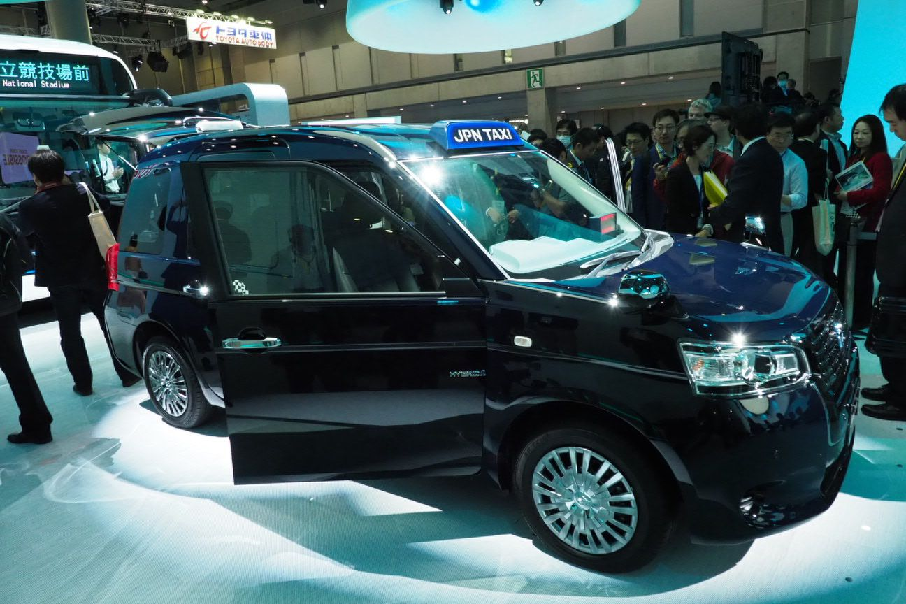 The New Japan Taxi From Toyota Wants To Be An International Icon Toyota Automotive Sales Japan