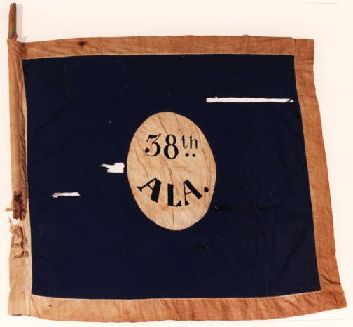 38th Alabama Infantry Flag Hardee Pattern Alabama Photographs And Pictures Collection Guerre De Secession Guerre