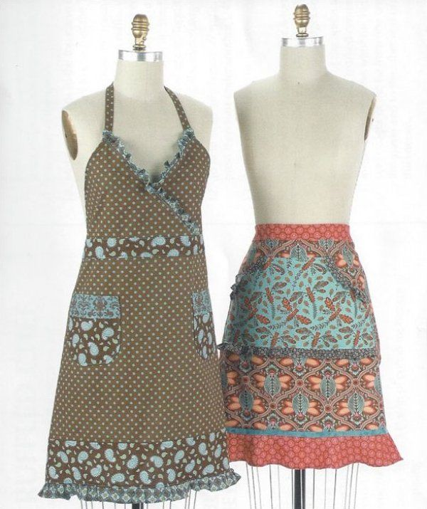 The Ruffled Chef Apron Pattern Apron Designs Sewing
