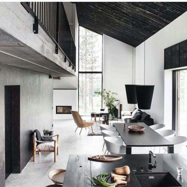30 Black White Living Rooms That Work Their Monochrome Magic: İnsan Boyutu Ve Ölçek (Hazırlayan: Engin Demirok) Teknik