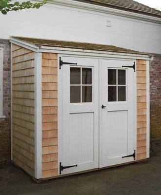 4 x 8 cuddyhunk buildings sheds and pool houses from walpole woodworkers - Garden Sheds 8 X 3