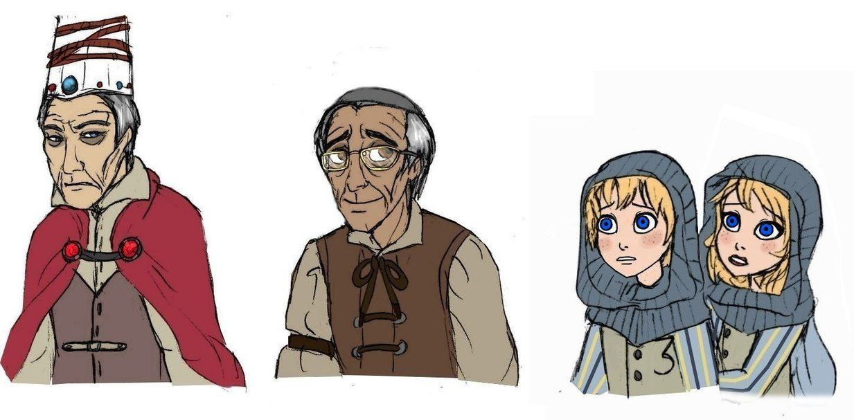 Human 1, 2, 3, 4 coloured by Lily-pily on DeviantArt