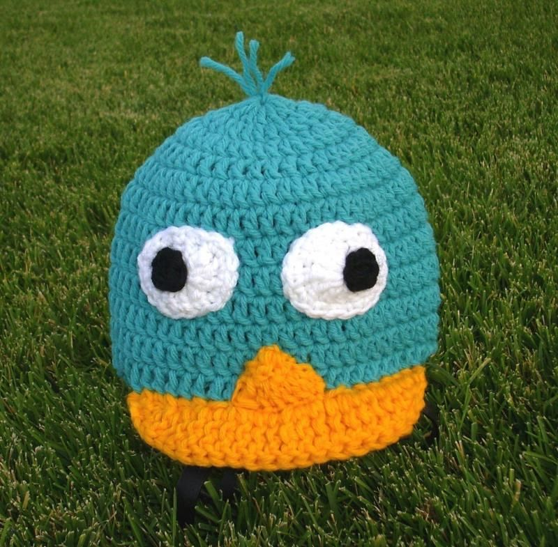 Perry The Platypus Crochet Hat Diy Projects Pinterest