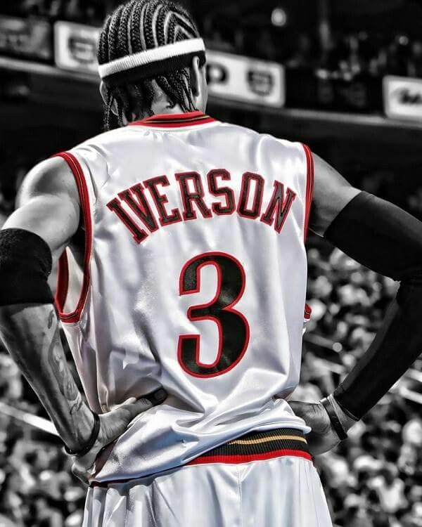 Iverson Basketball Players Nba Basketball Art Nba Players