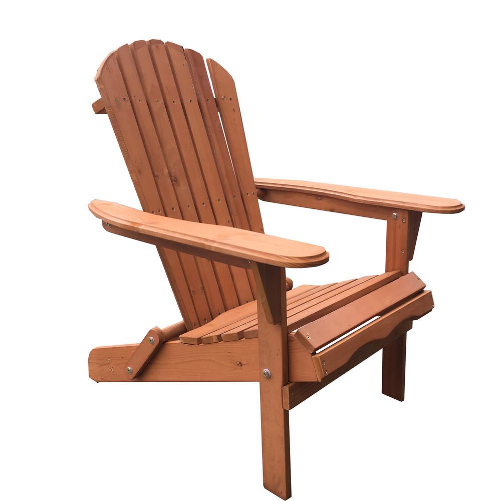 W Unlimited Classic Walnut Folding Wood Oceanic Adirondack Chair Wood Adirondack Chairs Wood Patio Furniture Plastic Rocking Chair