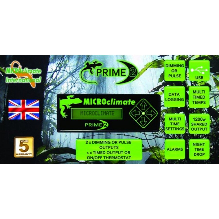Microclimate Prime 2 Thermostat Technology Prime Time Digital