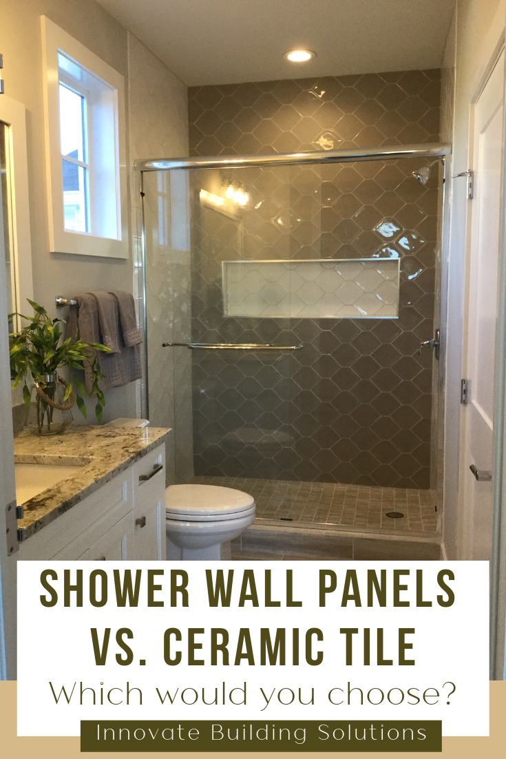 The Pros And Cons Of Shower Wall Panels Vs Ceramic Tile With