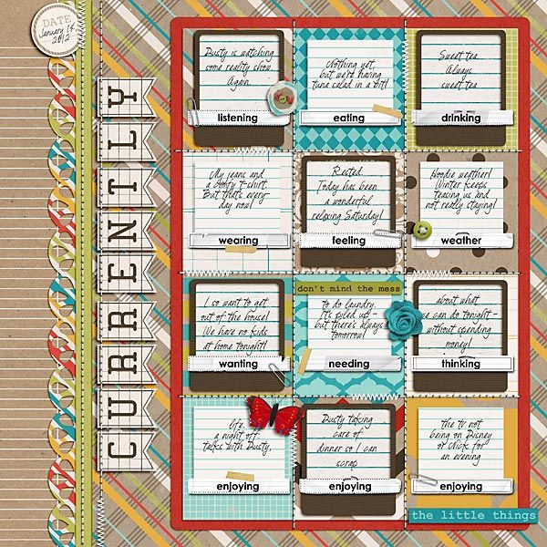 Currently By Nikki Epperson Using Embellish Now Templates