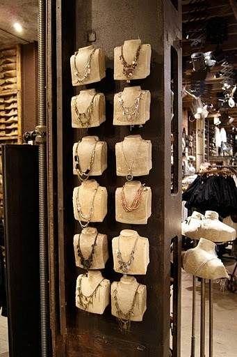Bust Jewellery Necklace Displays Necklace Display Jewellery