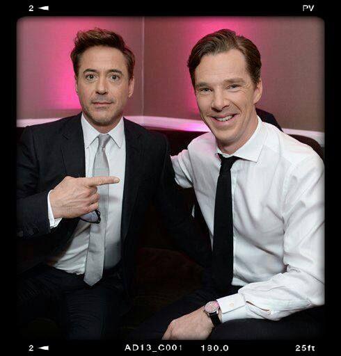 RDJ and Benedict