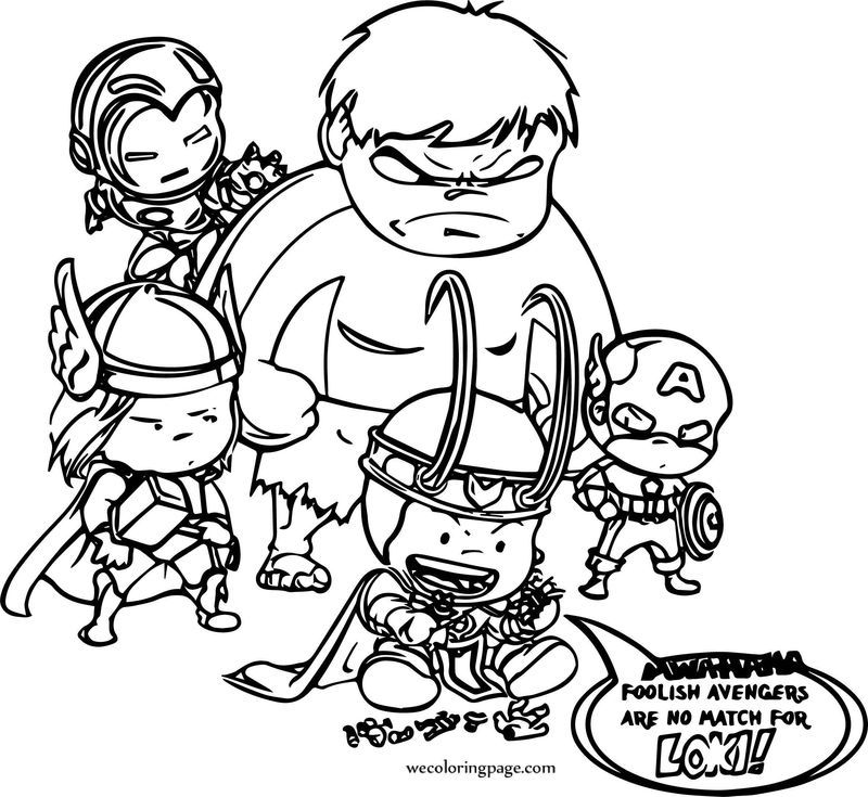 Avengers Coloring Page 17 See the category to find more ...