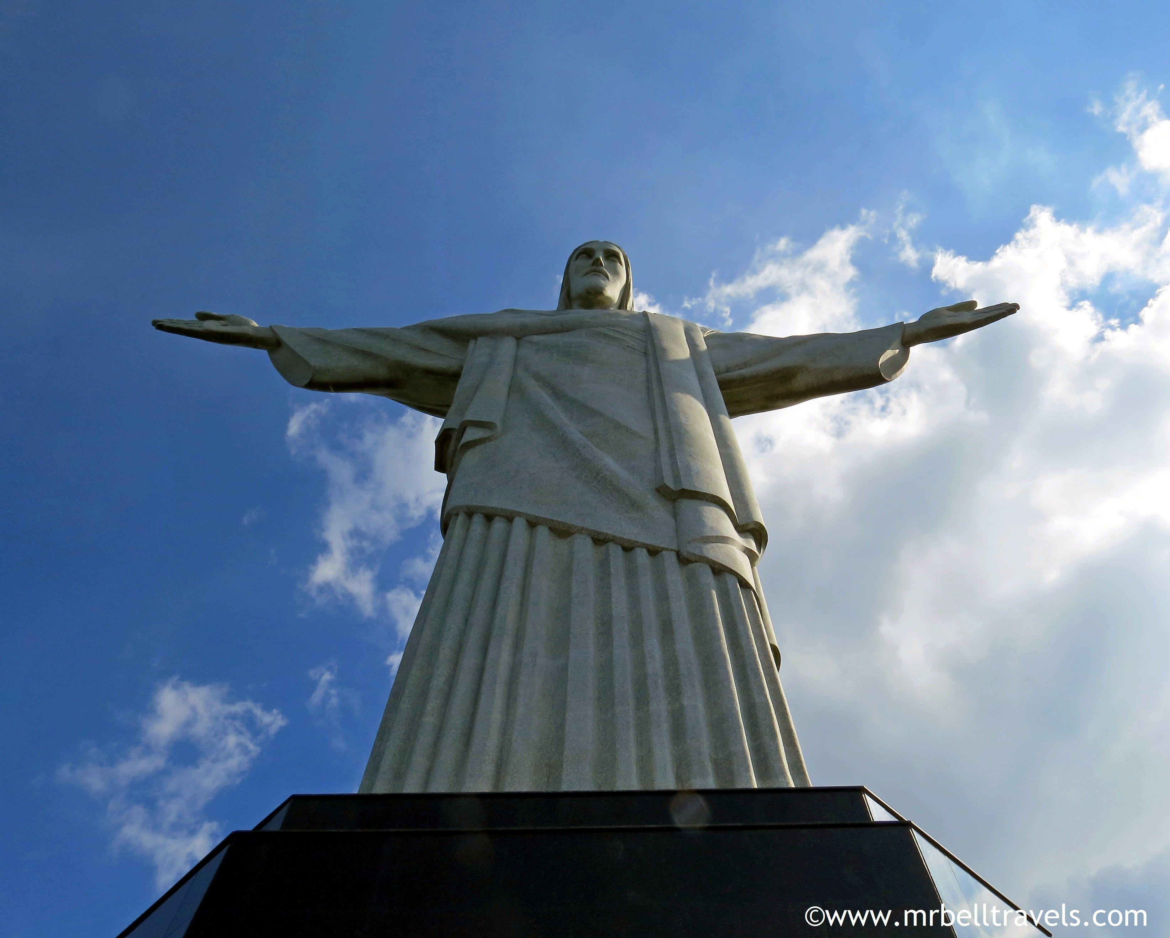 The statue of Christ the Redeemer, Rio de Janeiro
