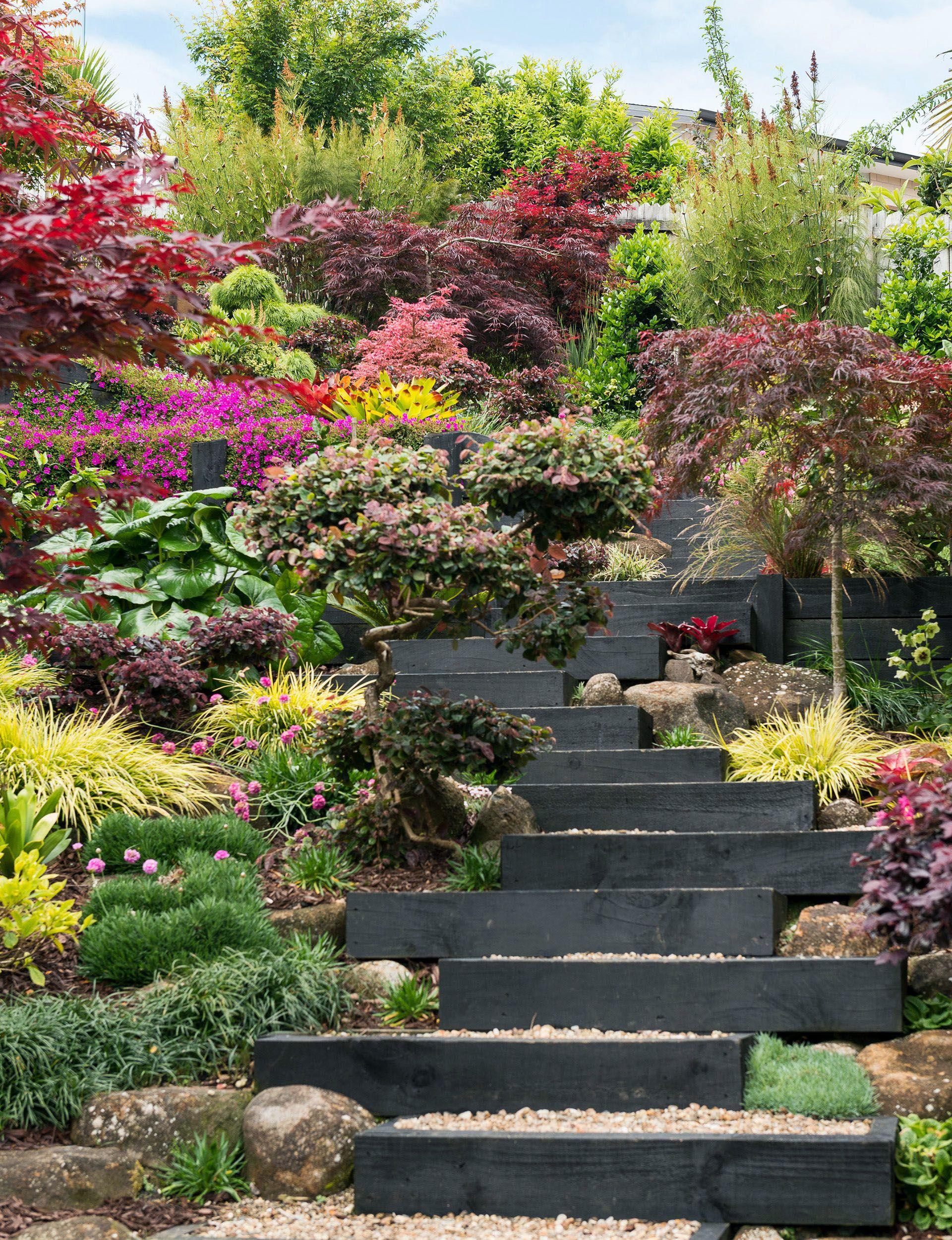 Incredible Zen Garden Wellness Stockton You Ll Love Sloped Backyard Landscaping Sloped Garden Garden Stairs