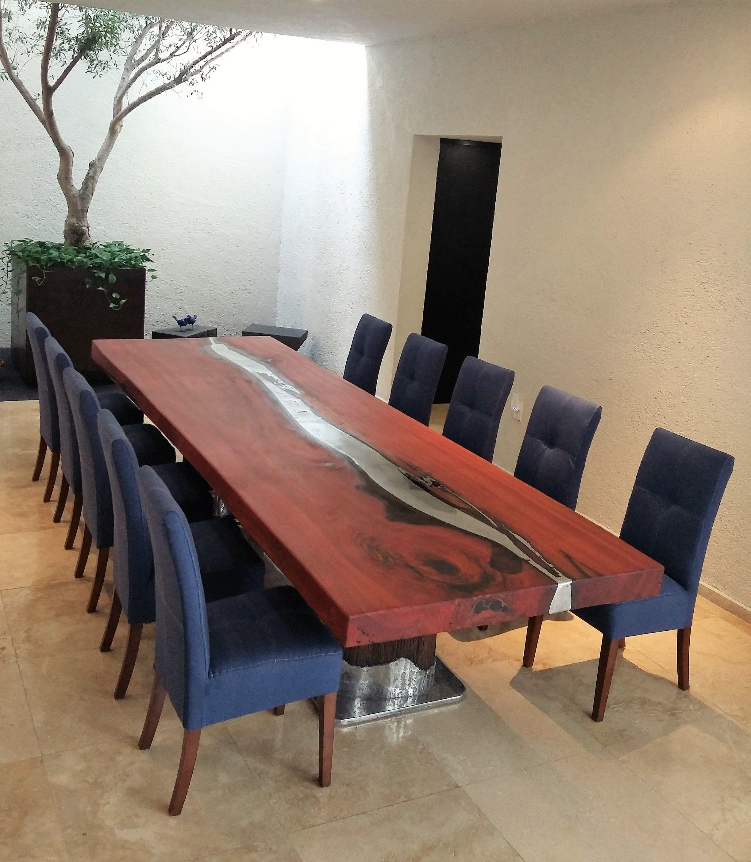 Vela dining table sustainable solid wood dining room furniture jh2 - Mesa De Comedor Madera Eucalipto Rojo Fundici N En Madera Wooden Tables Aluminumdining Roomredkitchenwoodtables
