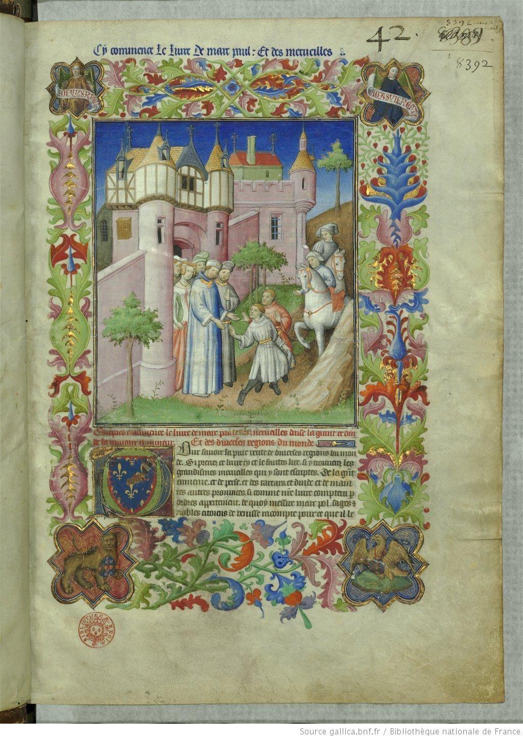 Marco Polo , Le Livre des merveilles ; Odoric de Pordenone ...