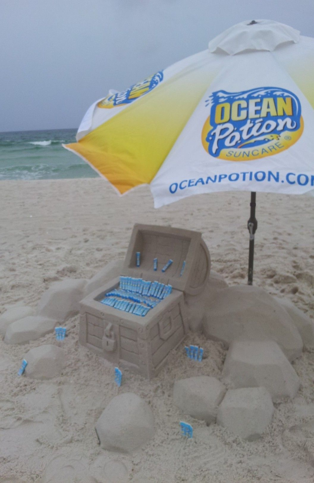 Panama City Beach Ocean Potion Pirate Treasure
