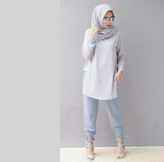 Nabilahatifa Hijab Fashion Pinterest Hijab Fashion Street