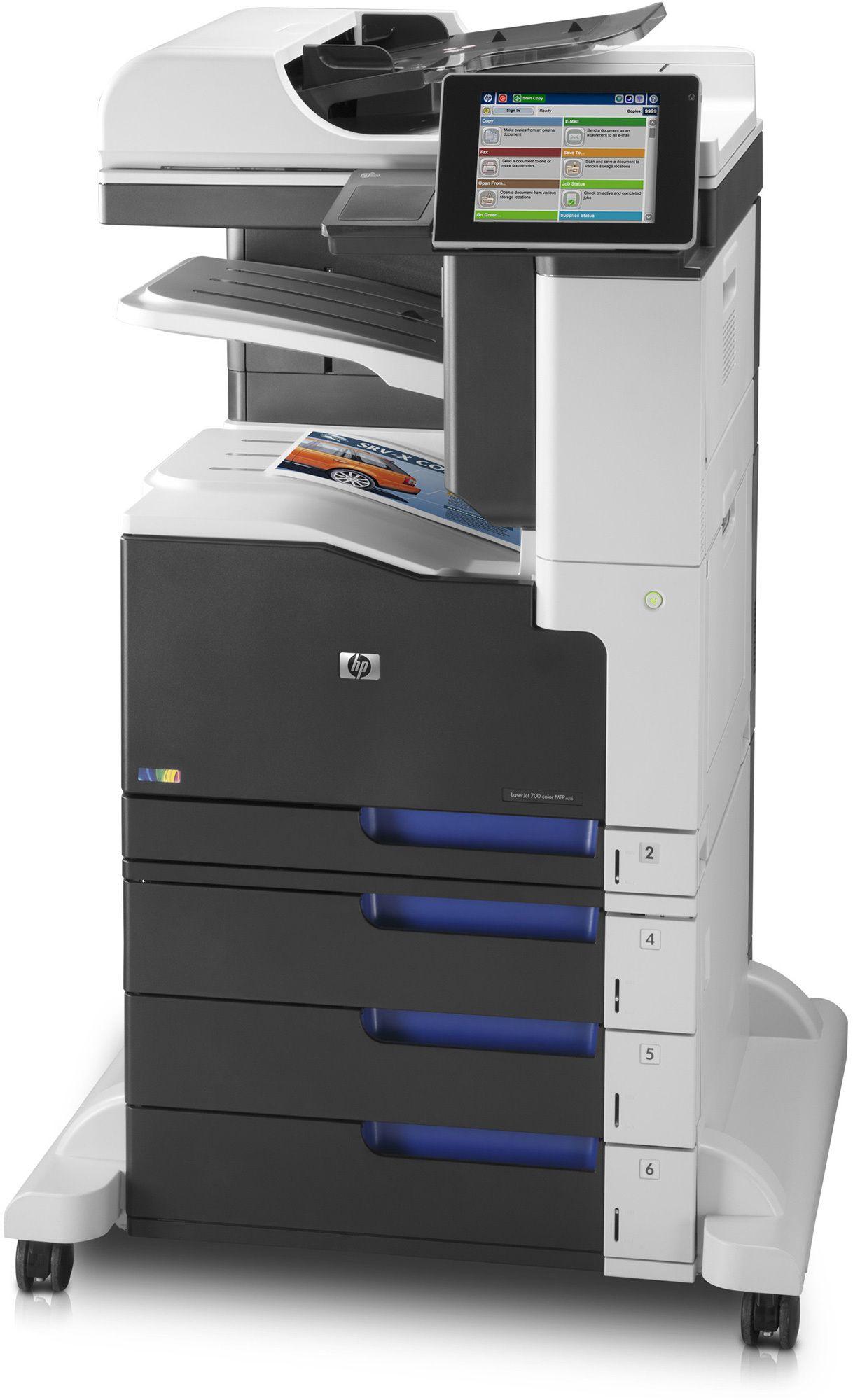 Hp laserjet enterprise 700 color mfp m775z cc524a