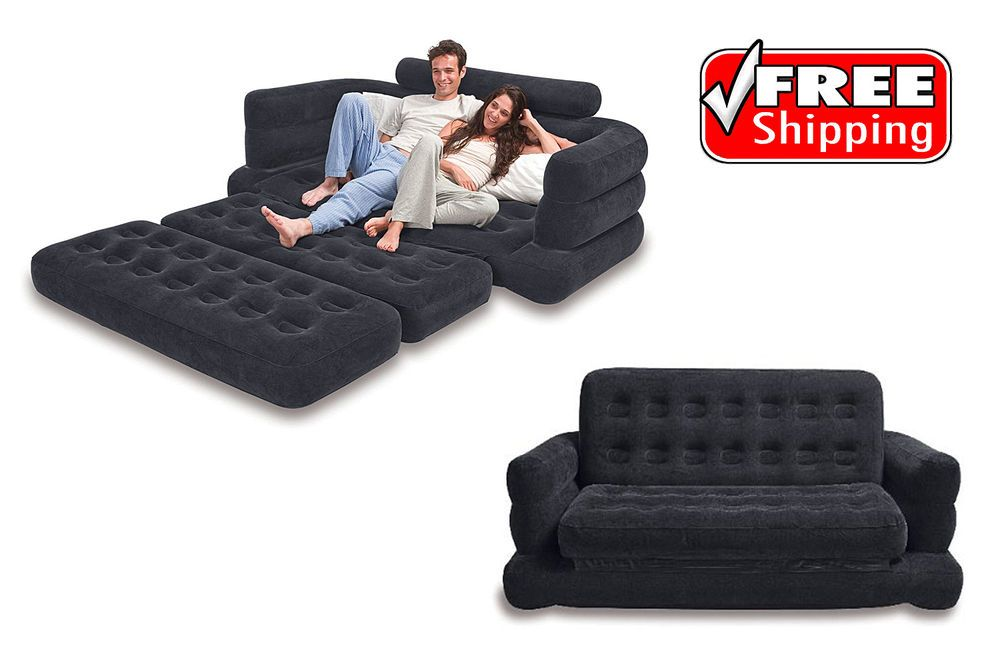 Marvelous Inflatable Couch Pulls Out Sofa Queen Bed Comfortable Frankydiablos Diy Chair Ideas Frankydiabloscom