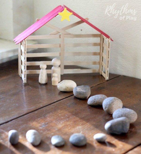 Simple Stone Christmas Advent Calendar Christmas Pinterest