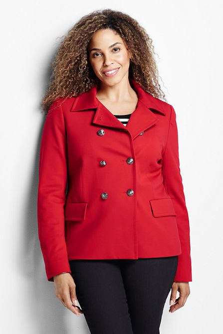 Women's Ponté Jacket from Lands' End