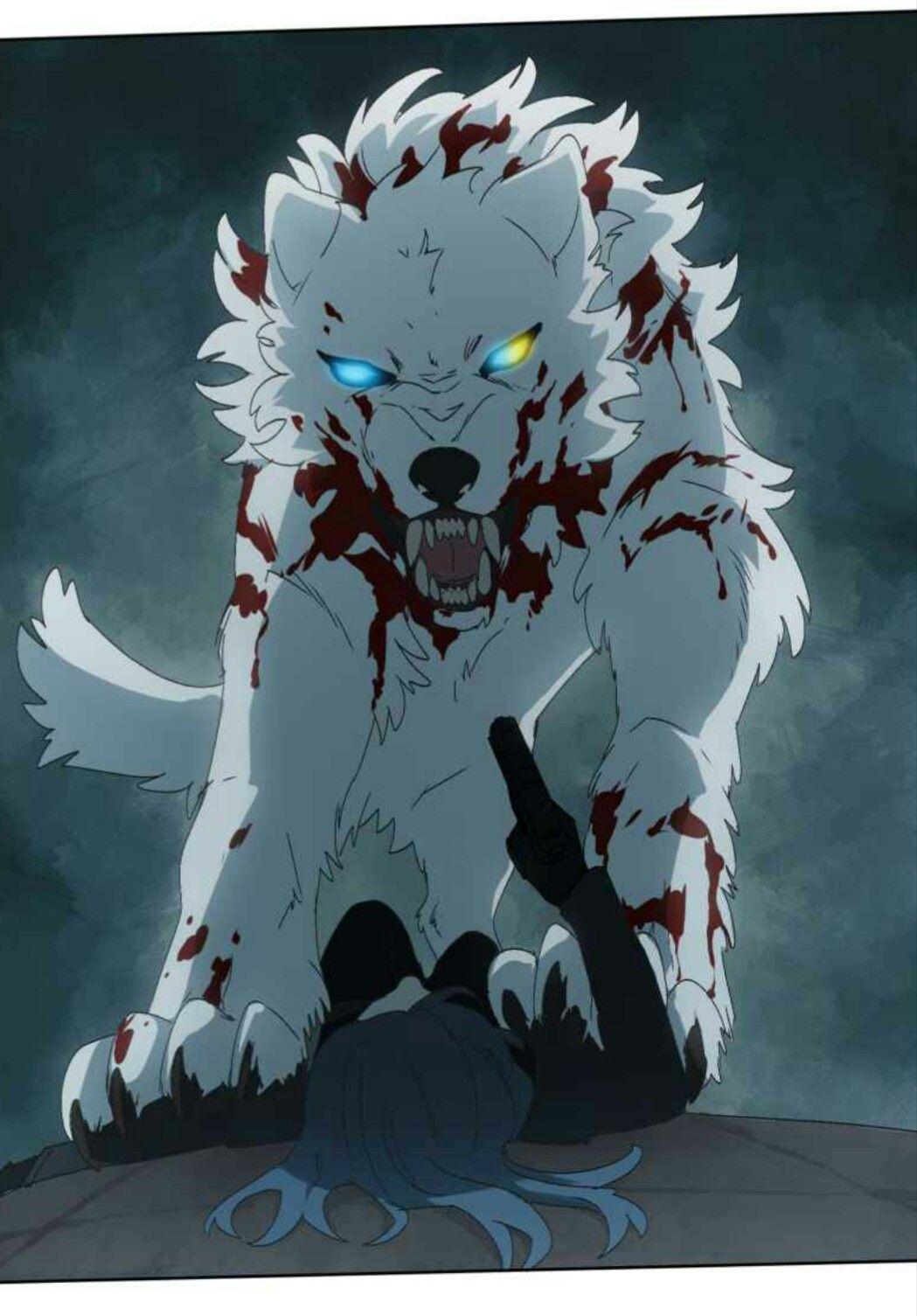 Lumine Anime Wolf Webtoon Comics Anime