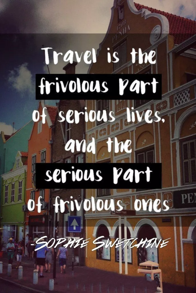 15+ Travel Quotes You've Never Heard - Page 2 of 2 - Twirx #travelquotes #besttravelquotes #travelwithfriendsquotes #inspirationaltravel #familytravelquotes