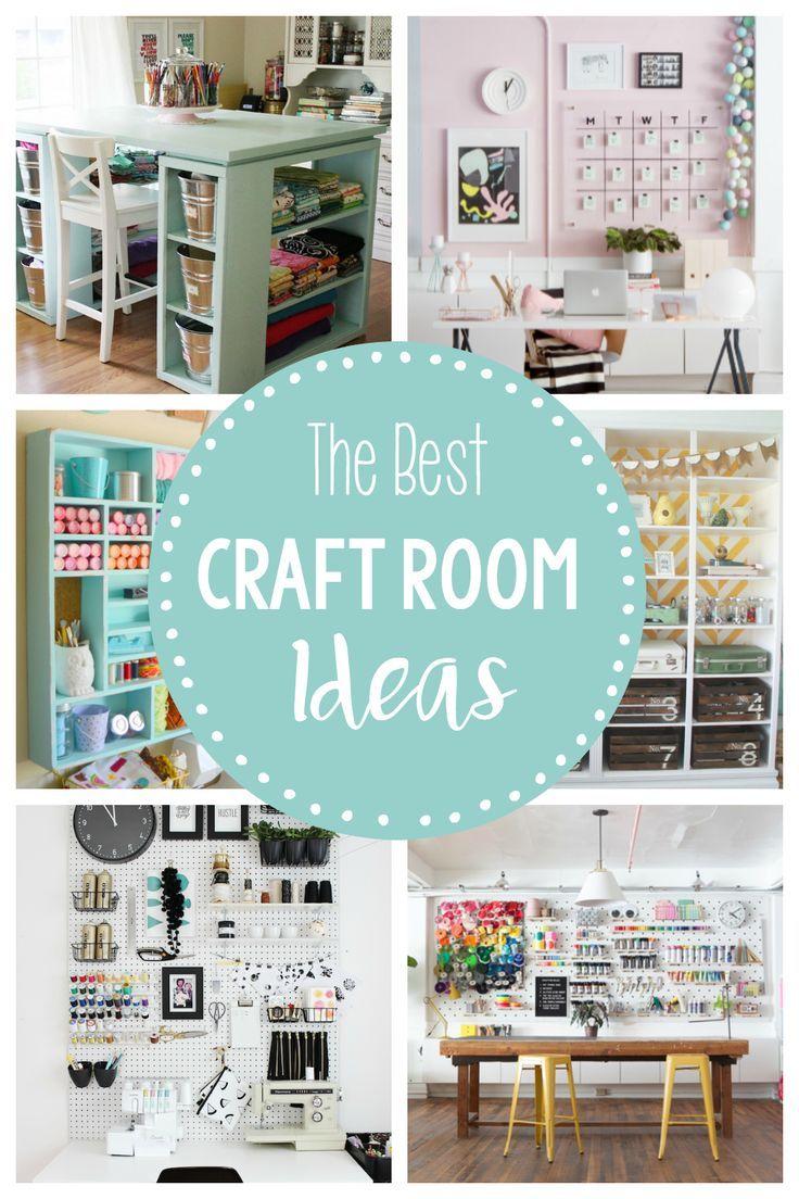 10x10 Room Layout Craft: 15 Fun & Amazing Craft Room Ideas