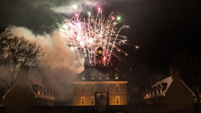Pictures: Grand Illumination in Colonial Williamsburg