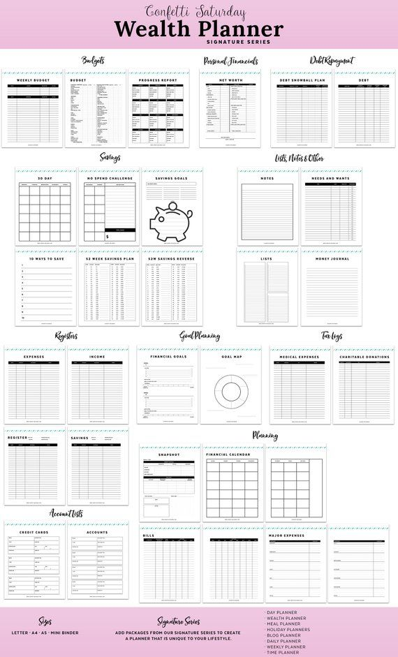 budget planner monthly budget planner personal finance binder