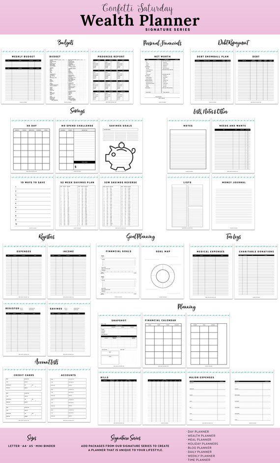 budget planner monthly budget planner personal finance binder