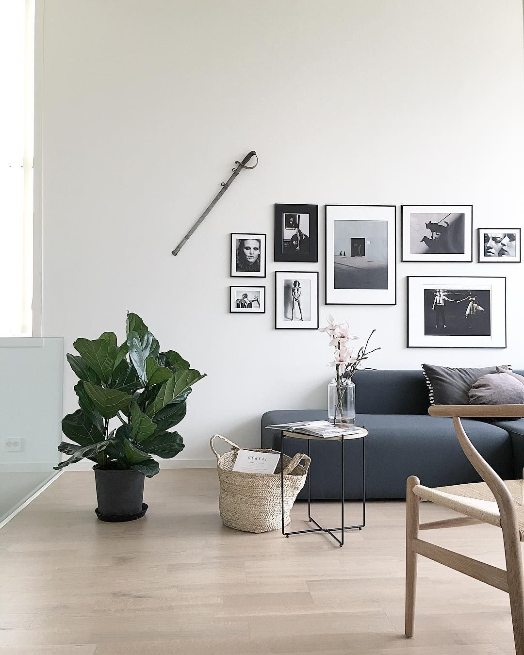 10 Monochromatic Modern Nordic Style Living Spaces To Be Inspired