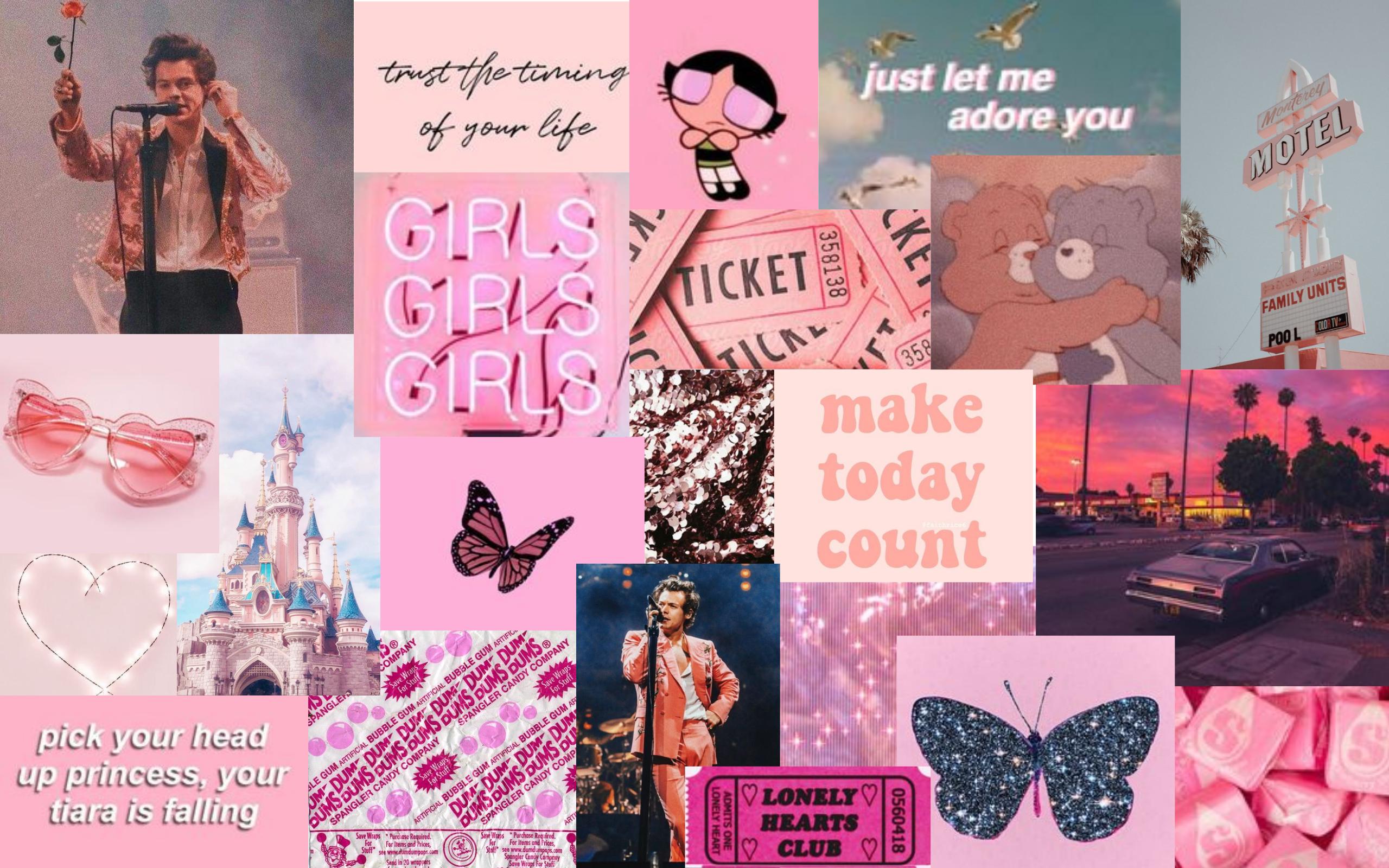 pink aesthetic wallpaper in 2020 Aesthetic desktop