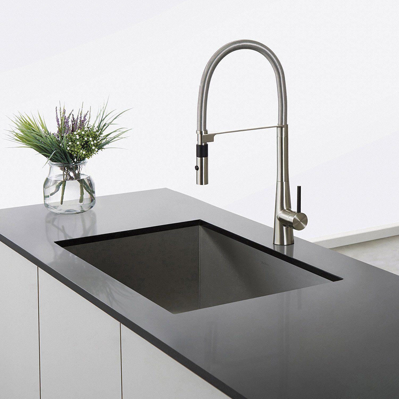 Kraus Kpf2700Ss Modern Crespo Single Lever Kitchen Bar Faucet New Discount Kitchen Faucets Review
