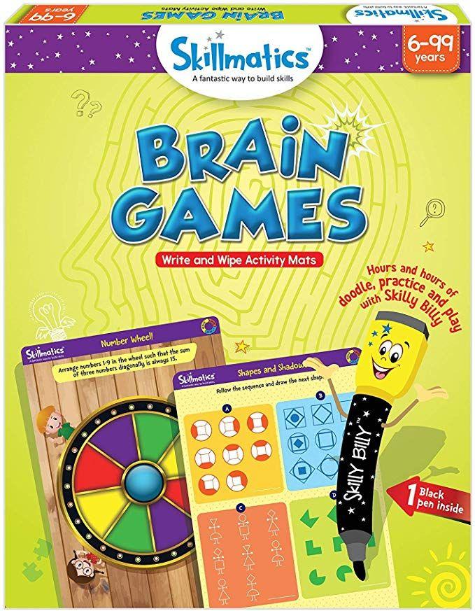 Amazon.com: Skillmatics Educational Game: Brain Games (6 ...