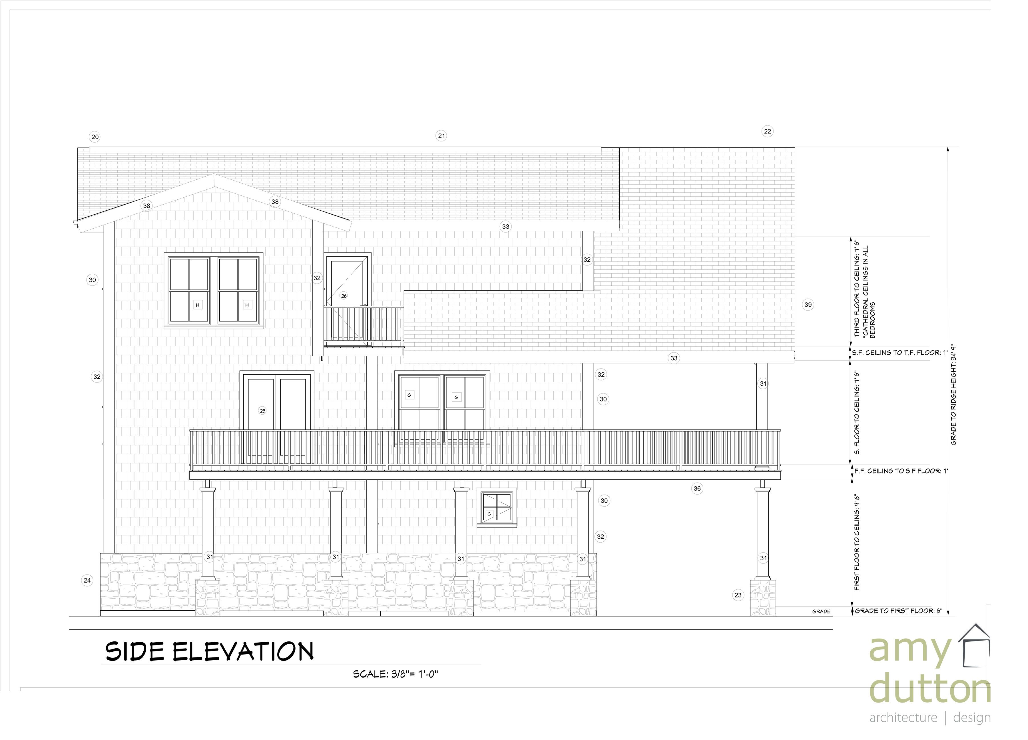Beach House Left Side View Floor Plans How To Plan Beach House