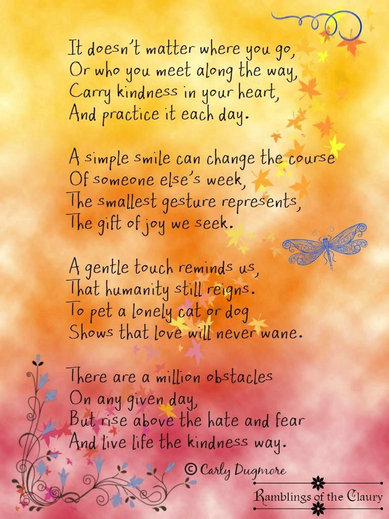 Smile poems and quotes - Ramblingsoftheclaury On Poem Quoteslife