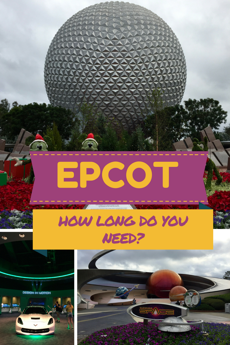 EPCOT How long does a family need to spend at this Disney theme