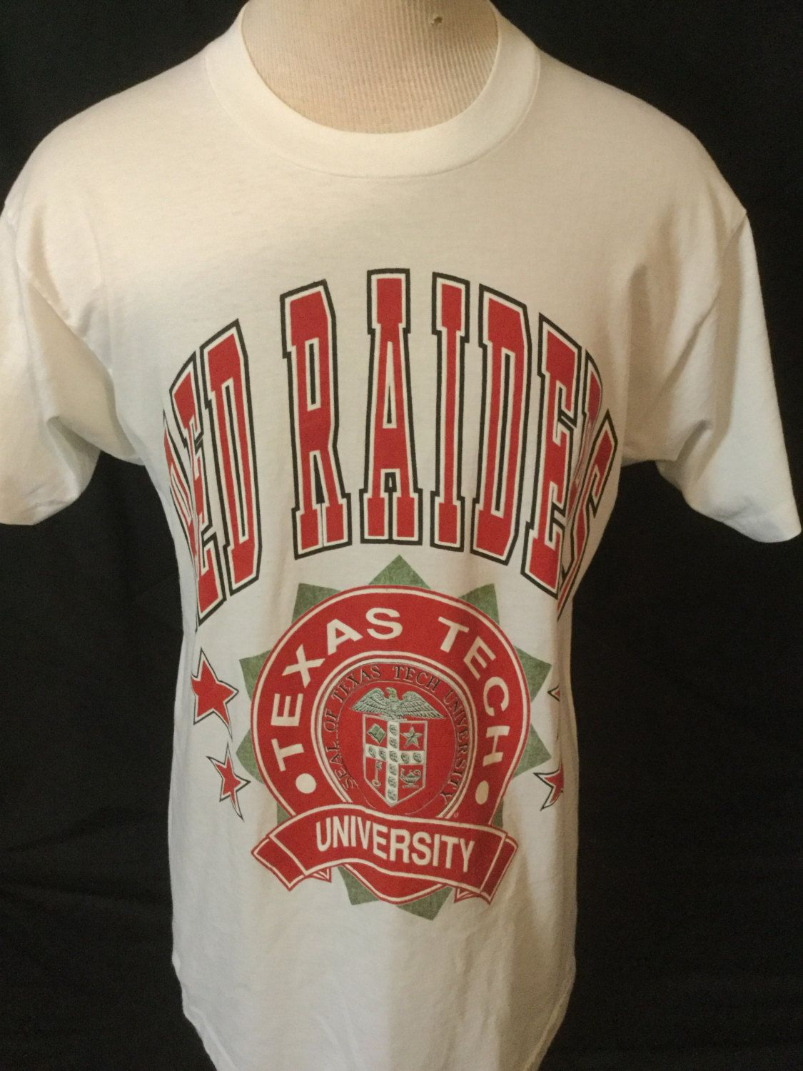 Vintage 1990 S Texas Tech Red Raiders 50 50 Awesome Etsy Texas Tech Red Raiders Cool T Shirts Red Raiders [ 1500 x 1125 Pixel ]