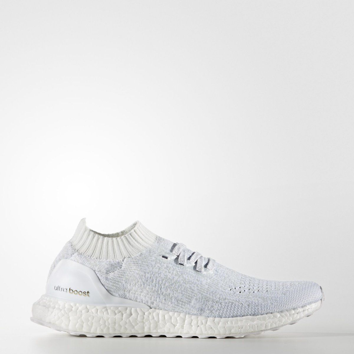 """Adidas Ultra Boost Uncaged """"Triple White"""". Dropping this July 16th. Secure your pair => http://bit.ly/1oeKFMb"""