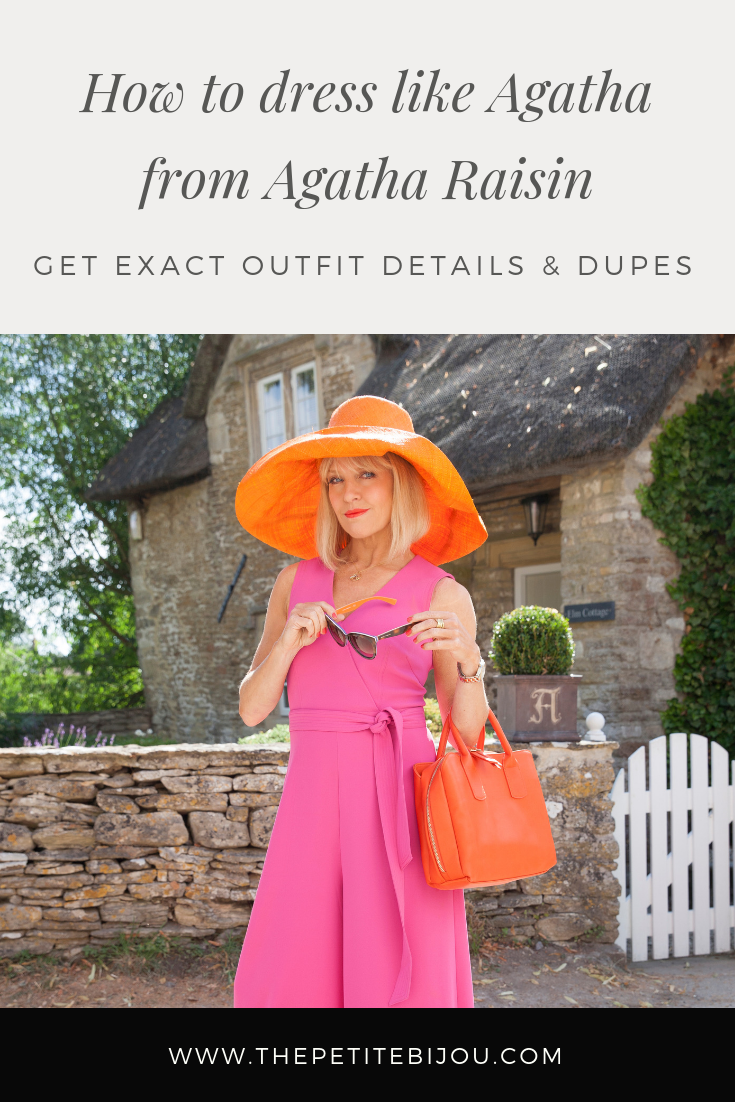 5bd76e68693ac Get the look: Dress like Agatha from Acorn TV's hit new show, Agatha  Raisin! She's a stylish and confident character in a British mystery show.