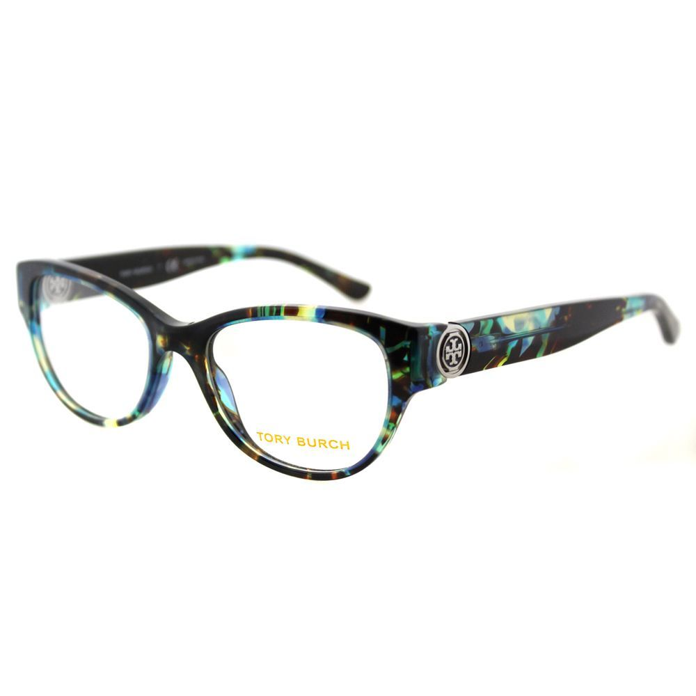 292b58520dd Upgrade your eyewear with these stylish and chic Tory Burch TY 2060 3145 Blue  Tortoise Plastic Cat-Eye 50mm Eyeglasses. These designer glasses showcase  blue ...