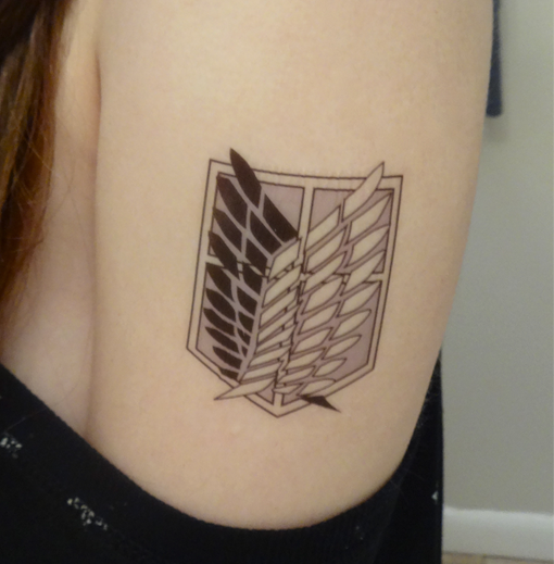 Attack on titan tattoo images for Attack on titan tattoo