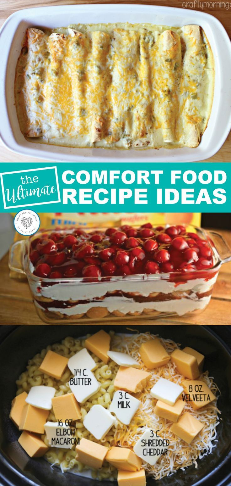 Hard Day Comfort Food images