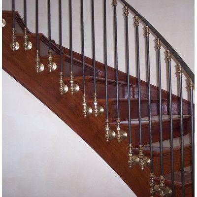 Best Dja Imports Side Mount Brackets Iron Stair Railing 640 x 480